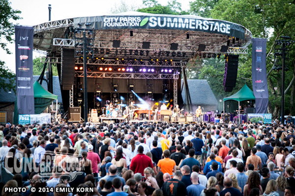 Summer stage central park