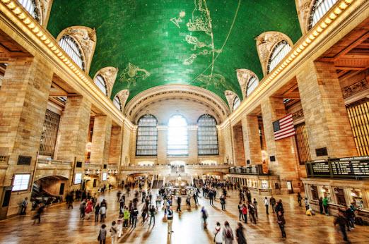 Découvrez la mythique Grand Central Terminal de New York